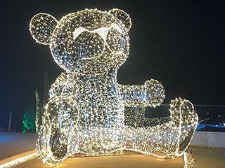 Световая фигура «Медвежонок»