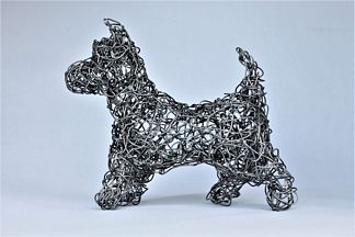wire sculpture by Nina Lazarou